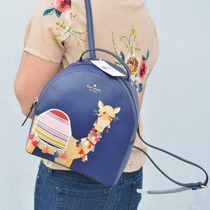 NWT Kate Spade Sammi Camel Backpack Rare